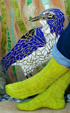 Matsudana from Knitty Fall Free knitted sock pattern. Knitting Socks, Free Knitting, Knitting Patterns, Crochet Patterns, Knit Socks, Knitted Slippers, Slipper Socks, Yarn Stash, Knitting Magazine