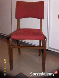 Krzesła krzesełka 100 PRL lata 6070te typ S3 z Dom i Ogród Warszawa sprzedam