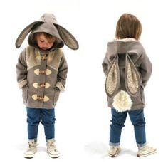 Ursos, coelhos e raposas: esses casacos transformam crianças em verdadeiros bichinhos | Virgula