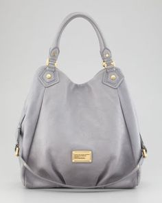 ShopStyle.com: MARC by Marc Jacobs Classic Q Francesca Hobo Bag, Storm Cloud Sold Out