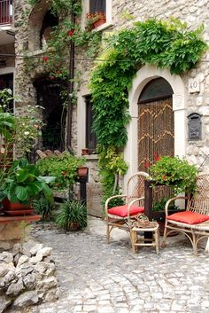 Charming setting in Assergi, Italy