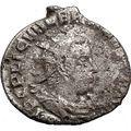 VALERIAN I 255AD Ancient Silver Roman Coin FELICITAS Cult Commerce i21583