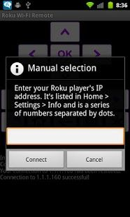 Rfi - remote for Roku players