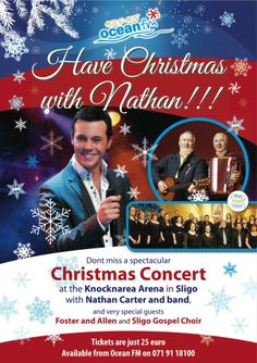 Nathan Carter Christmas Concert in Sligo December 2014 Christmas Concert, December 2014, Special Guest, Choir, The Fosters, Events, Shit Happens, Happenings, Greek Chorus