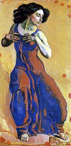 Ferdinand Hodler. Mujer en éxtasis. 1911.