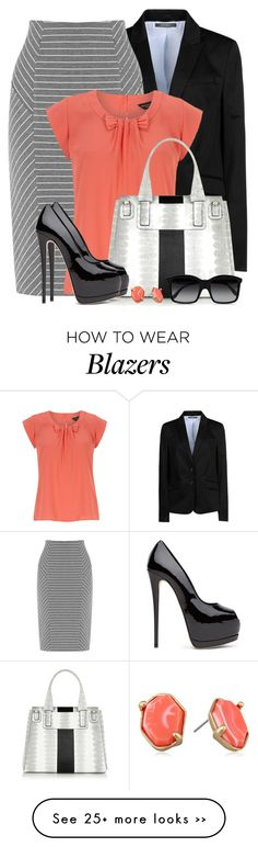 """Pop of Coral"" by brendariley-1 on Polyvore featuring ESPRIT, Warehouse, Dorothy Perkins, Givenchy, Kenneth Cole and STELLA McCARTNEY"