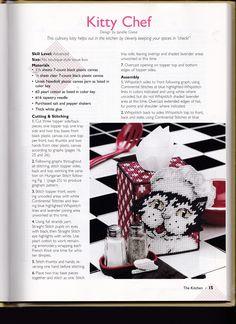 Kitty Chef Tissue Box Cover 1/4