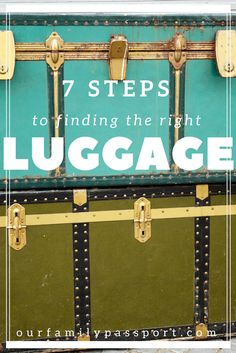 Don't miss our 7 Steps to Finding the Right Luggage to help you know what to look for and help you find the right luggage! Our family travel tips are tried and true, and we find them… Best Luggage, Travel Luggage, Travel Bags, Travel Items, Travel Stuff, Travel Gifts, Packing Tips For Travel, Travel Advice, Travel Essentials