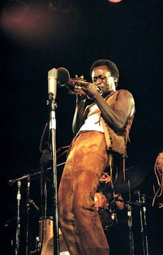 """soundsof71: """"Miles Davis at Tanglewood, 1970, by Amalie R. Rothschild """""""