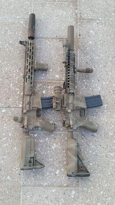 rattle can paint job pics - Military Weapons, Weapons Guns, Guns And Ammo, Rifles, Armas Airsoft, Camo Guns, Gun Vault, Ar Pistol, Custom Guns