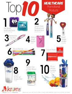 Top 10 Healthcare Promotional Products