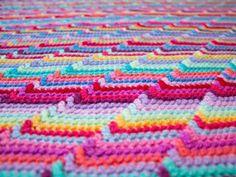 Groovy-ghan - free stash buster afghan crochet patterns