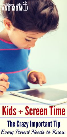 The most important screen-time recommendation for kids that every parent should know. Science-based tips for kids and screen-time. via @lauren9098