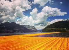 Christo Floating Piers, Lago Di Iseo, Italy June 2016
