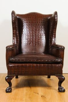 Shop wingback chairs and other antique and modern chairs and seating from the world's best furniture dealers. Victorian Furniture, Antique Furniture, Art Deco Furniture, Furniture Decor, Luxury Chairs, Luxury Office, Cigar Room, Wing Chair, Take A Seat