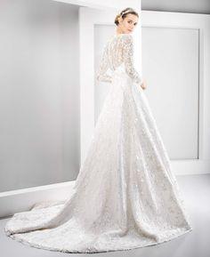 #6075 Nanda Devi Collection - 2016 Vestidos de novia - Jesús Peiro Wedding dresses - Jesús Peiro