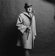 Patrick Macnee.  I've grown up wanting to dress up like Steed.