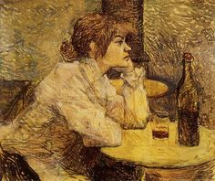 Hangover por Toulouse-Lautrec