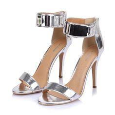 LiKing 23-002 Damen Sandalen Sandaletten High Heels Silber 40 - http://on-line-kaufen.de/liking-sandalen/40-eu-liking-23-002-damen-sandalen-sandaletten-2