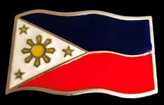 Philippines Filipino Island National Flag Belt Buckle #philipines #philipinesflag #flag #flagbeltbuckle #philipinebeltbuckle #beltbuckles Portuguese Flag, Cool Belt Buckles, Sports Flags, International Flags, Australian Flags, Gothic Crosses, Metal Belt, Fashion Belts, Beautiful Butterflies