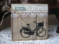 card bicycle bike Marianne design bicycle die - een berg kaartjes (en meer): oktober 2015