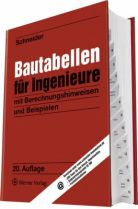 Schneider Bautabellen, Ingenieurbau