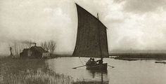 In the British photographer Peter Henry Emerson captured a series of atmospheric images of the landscape and the working people of Norfolk in eastern England. History Of Photography, Vintage Photography, White Photography, Inspiring Photography, Artistic Photography, Landscape Photography, Victoria And Albert Museum, Emerson, Aesthetic Theory