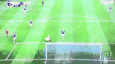 هدف مانشستر يونايتد الثالث و روني امام ايفرتون
