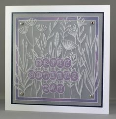 Lynne's Crafty Little Blog: A Groovi Mother's Day