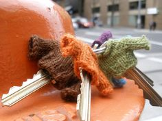 key cozies - amazing idea!