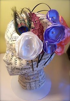 Mannequin Headband Display