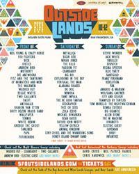 Outside Lands - 2013 : Music - Food - Wine - Beer - Art