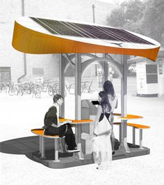 solar charging station concept 1