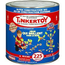 I had no idea these toys were at a premium! TinkerToy Classic Construction Set