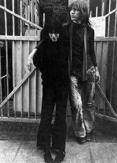 Patti Smith & Jim Carroll