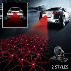 Car Laser Fog Lamp Universal Auto Rearend Alarm LED Tail Light for Cars and Motorcycles Brake Parking AntiCollision Safety Warning Lights Grid Pattern * Read more at the image link. (This is an affiliate link and I receive a commission for the sales) Buying First Car, Car Accessories Gifts, Car Body Cover, Best Cars For Women, Light Grid, Led Tail Lights, Futuristic City, Rear Ended, Cute Cars