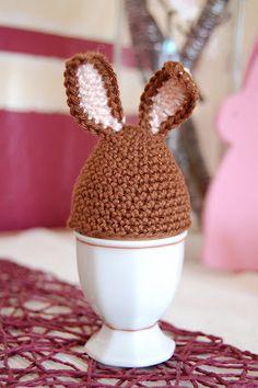 bunny egg cozy