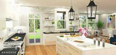 Get inspired with this dreamy kitchen design from Anne at Hanover Avenue.
