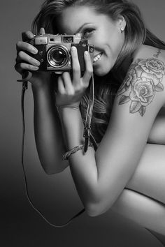say Cheese ... and smile ... #photohraphy #beauty #inked #girl #tatoo #smile