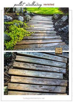 40 Really Clever DIY Garden Path Ideas