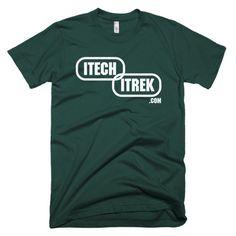 ITech ITrek Short sleeve men's Logo t-shirt