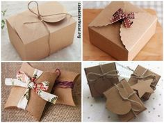 modelos com papel kraft Gift Wrapping, Chocolate, 30, Gifts, Cute Packaging, Explosion Box, Shoe Box, Product Packaging, Box Templates