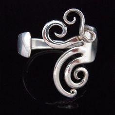 Fork Bracelet! so cool!! I want one!