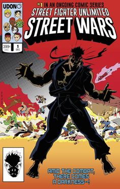 Cover Story: Street Fighter Does Secret Wars, Local Comic Shop Day And Colour Your Own Marvel Secret Wars, Marvel Vs, Best Comic Books, Comic Books Art, Street Fighter Comics, World Of Warriors, Mundo Geek, Comic Poster, Anime Sketch