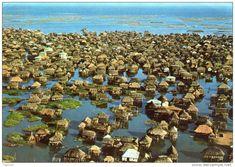la ciudad lacustre de Ganvie