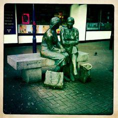 Two Dublin shoppers..