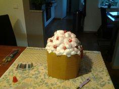 Sinterklaas suprise cupcake