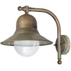 Tuscanor - Exterior Brass Wall Light - TUS2092