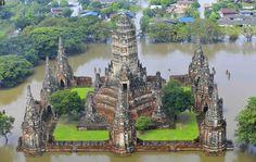 Ayutthaya inundada