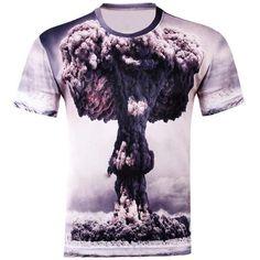Fashion 3D Printed T-shirt